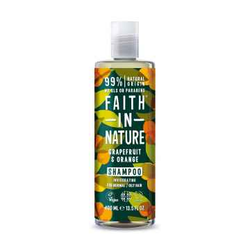 Faith in Nature Šampon grapefruit & pomeranč 400 ml