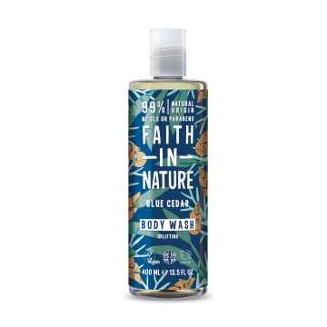 Faith in Nature Sprchový gel modrý cedr, Faith for men 400 ml