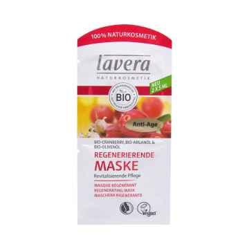Lavera Regenerující brusinková maska, Faces 2 x 5 ml