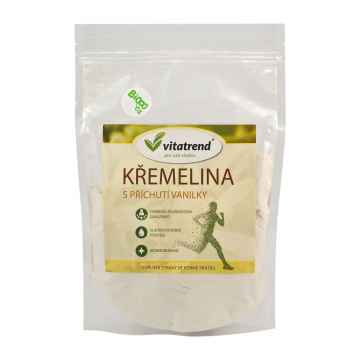 Vitatrend Křemelina s příchutí vanilky 250 g, sáček