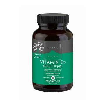 Terranova Health Vitamin D3 pro děti, kapsle 50 ks