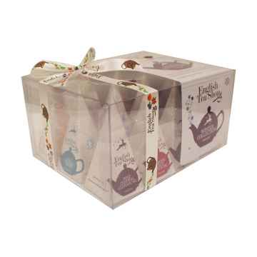 English Tea Shop Vánoční sada Zimní kolekce, bio 1 ks sada, (12 ks v balení)