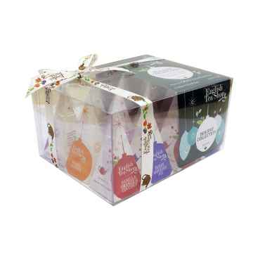 English Tea Shop Vánoční sada Zelené ozdoby, bio 1 ks sada, (12 ks v balení)