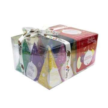 English Tea Shop Vánoční sada Červené ozdoby 1 ks sada, (12 ks v balení)