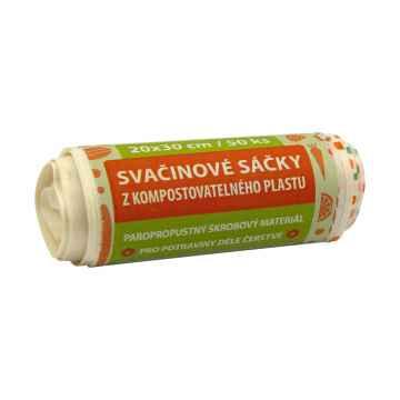 Kompostuj.cz Svačinové kompostovatelné sáčky 50 ks, 20x30 cm