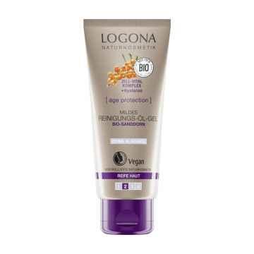 Logona Jemný čistící olejový gel, Age Protection 100 ml