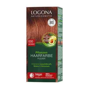 Logona Prášková barva na vlasy červená přírodní, 030 100 g