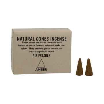 Natural Cones Incense Vonné jehlánky Amber 25 ks