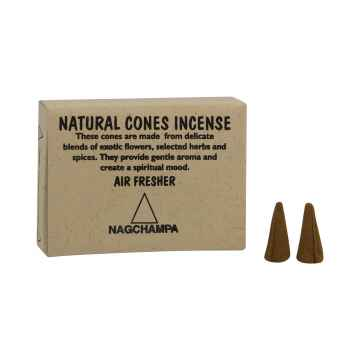 Natural Cones Incense Vonné jehlánky NagChampa 25 ks