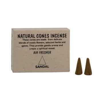 Natural Cones Incense Vonné jehlánky Sandal 25 ks
