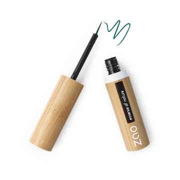 ZAO Tekuté oční linky 073 Emerald Green 4,5 g bambusový obal