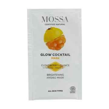 MOSSA Rozjasňující maska s moruškou, Glow Coctail 5 ml