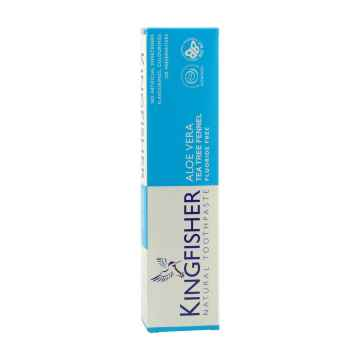 Kingfisher Zubní pasta s aloe vera, tea tree a fenyklem 100 ml