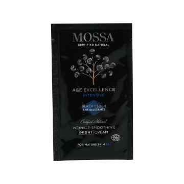 MOSSA Intenzivní vyhlazující noční krém, Age Excellence 1,5 ml