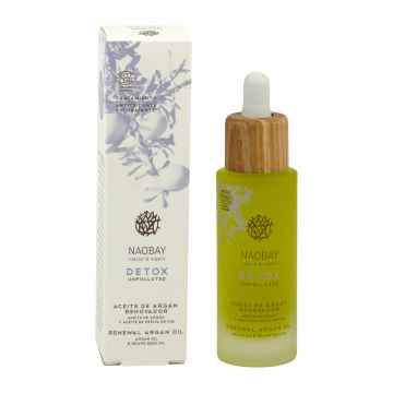 Naobay Obnovující arganový olej, Detox 30 ml