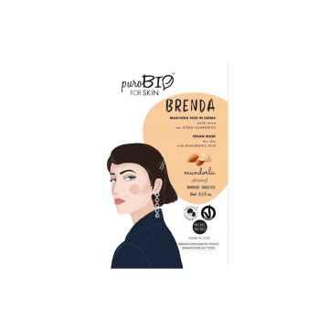 puroBIO cosmetics Pleťová maska Brenda Almond 01 10 ml