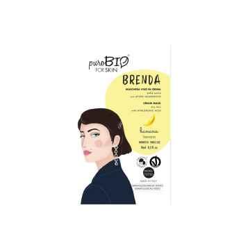 Pleťová maska Brenda Banana 02 10 ml