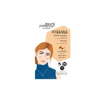puroBIO cosmetics Pleťová maska Miranda Almond 04 10 ml