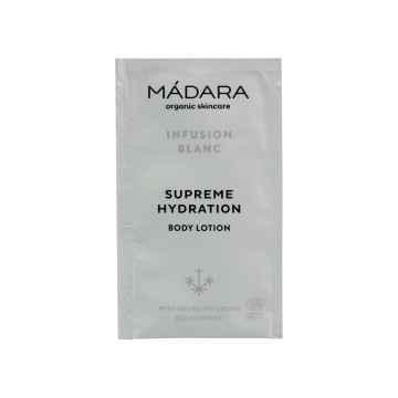 MÁDARA Ultra hydratační tělové mléko, Infusion Blanc 10 ml