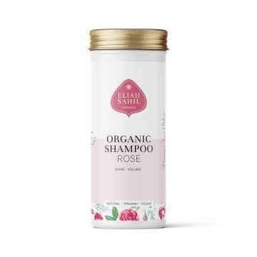 Eliah Sahil Ájurvédský práškový šampon na objem Rose-Protein, Bio 100 g
