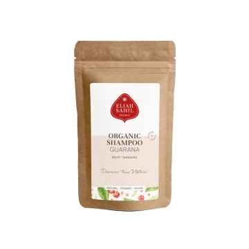 Eliah Sahil Organic Ájurvédský práškový šampon Citrus-Guarana, Bio 10 g