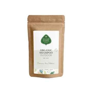 Eliah Sahil Organic Ájurvédský práškový šampon na vlasy a tělo Verveine, Bio 10 g
