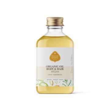 Eliah Sahil Ájurvédský tělový olej Argan, Bio 100 ml