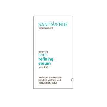 Santaverde Zjemňující sérum bez parfemace, Pure 1 ml