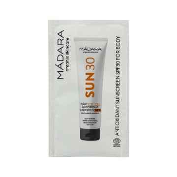 MÁDARA Opalovací krém na tělo s antioxidanty SPF 30 3 ml