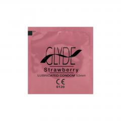 Glyde Kondomy Strawberry 10 ks