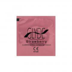 Glyde Kondomy Strawberry 10 ks