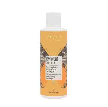 Farfalla Hydratující sprchový gel Mandarine Carpe Diem 200 ml
