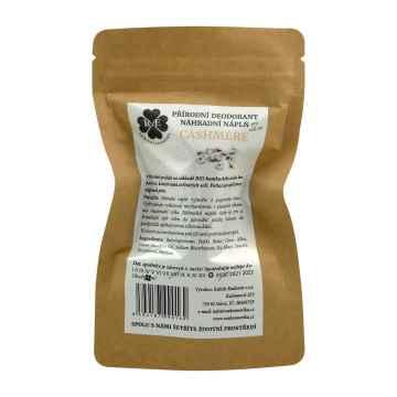 RaE Přírodní deodorant s vůní kašmíru 22 g náhradní náplň