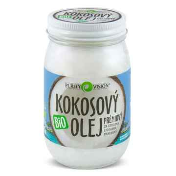 Purity Vision Kokosový olej panenský, bio 420 ml