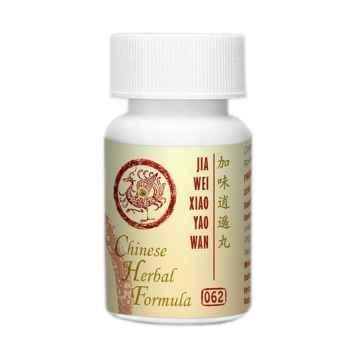 Lanzhou Pharmaceutical TCM formule 062 Jia Wei Xiao Yao Wan 192-200 kuliček, 33 g