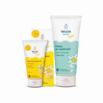 Weleda Duo pack Sun Set 1 ks (200 ml + 50 ml)