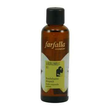 Farfalla Tělový olej Bezpečí, Iris 75 ml