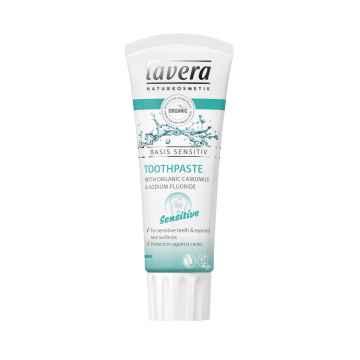 Lavera Zubní pasta pro citlivé zuby a dásně, Basis Sensitiv 75 ml