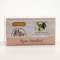 Siddhalepa Ayur Intellect, čaj pro koncentraci 40 g, 20 ks