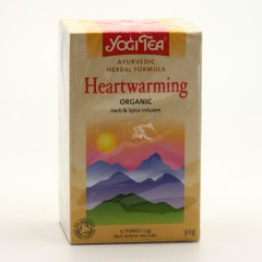 Golden Temple Čaj Yogitea Heartwarming 17 ks, 30 g