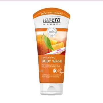Lavera Sprchový gel pomeranč a rakytník, Body Spa 200 ml