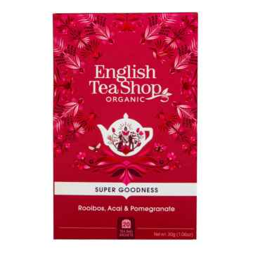 English Tea Shop Rooibos, Acai a Granátové jablko 35 g, 20 ks