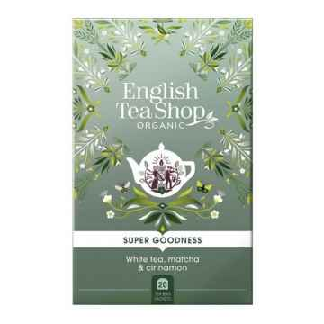 English Tea Shop Bílý čaj, Matcha a Skořice 35 g, 20 ks