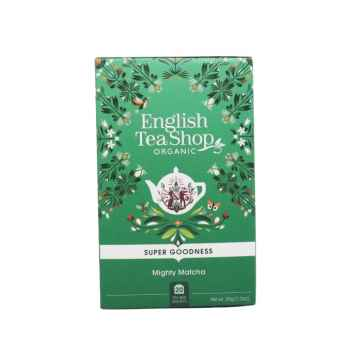 English Tea Shop Super Food Tea, Mocná Matcha 35 g, 20 ks