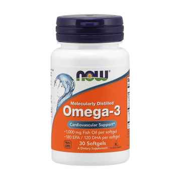 NOW Omega 3 30 tobolek