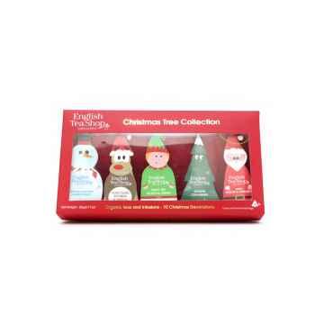 Vánoční figurky, 10 pyramidek, bio 20 g, 10 ks
