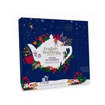 English Tea Shop Dárkový adventní kalendář Vánoční noc, bio 50 g, 25 ks