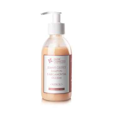 Zahir Cosmetics Jemný čistící šampon s arganovým olejem, Neroli 200 ml