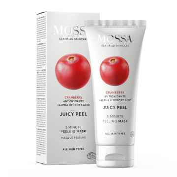 MOSSA Peelingová maska, Juicy 60 ml