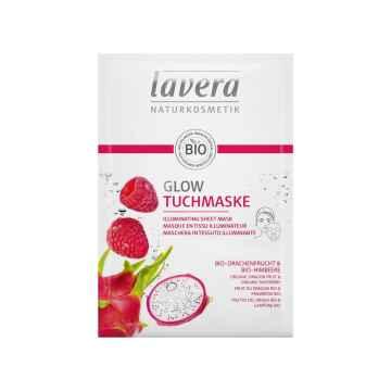 Lavera Rozjasňující textilní maska 21 ml